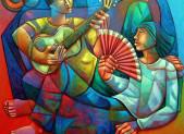 Des peintures pour non-voyant : EXPO VOIR OU TOUCHER